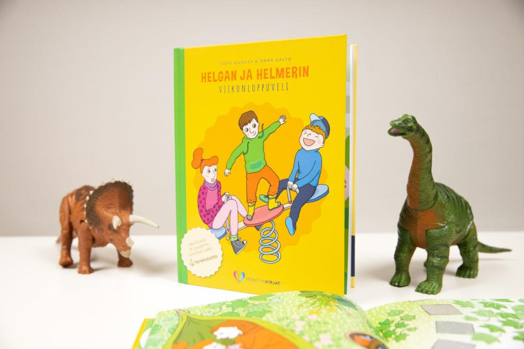 Helgan ja Helmerin viikonloppuveli tukee Perhehoitoliiton työtä.